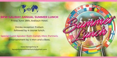 BPW Galway Summer Lunch tickets