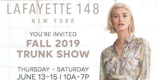 Lafayette Trunk Show