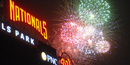 July 4th Eve Nationals Fireworks Watch Party