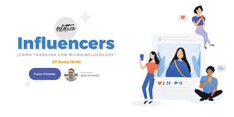 ¿Cómo trabajar con micro influencers? entradas