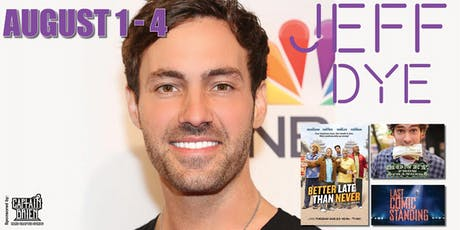 Standup Comedian Jeff Dye live in Naples, Florida tickets
