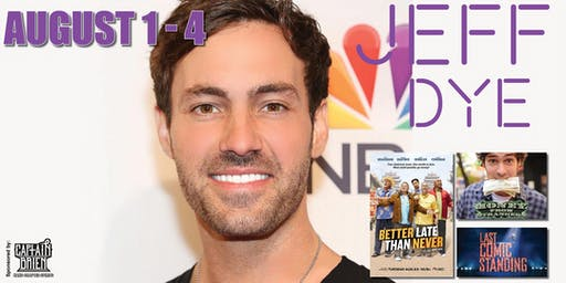 Standup Comedian Jeff Dye live in Naples, Florida