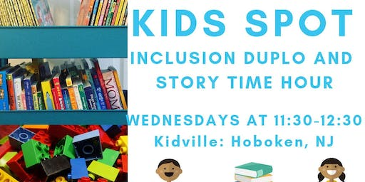 CTD OT led Duplo/Story Time Social Hour: Ages 12-36 months