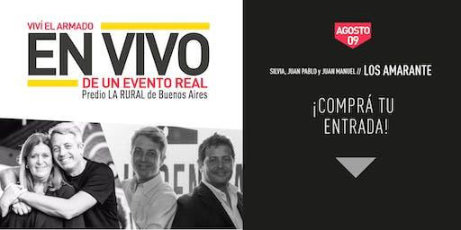 ARMADO EN VIVO de EVENTO REAL / LOS AMARANTES / LA RURAL