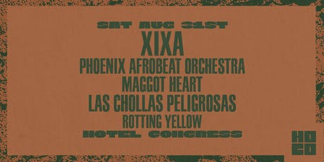XIXA and Phoenix Afrobeat Orchestra at Hotel Congress tickets