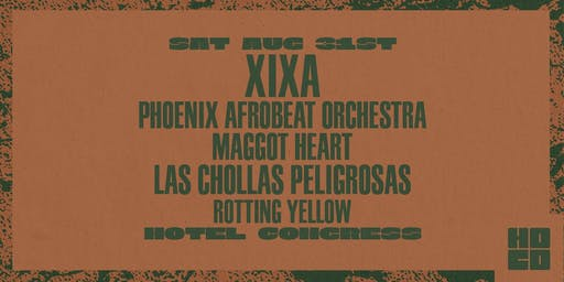 XIXA and Phoenix Afrobeat Orchestra at Hotel Congress