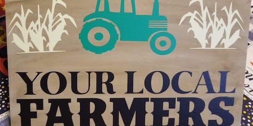 Farm Sign Paint Night