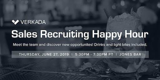 Verkada Sales Recruiting Happy Hour