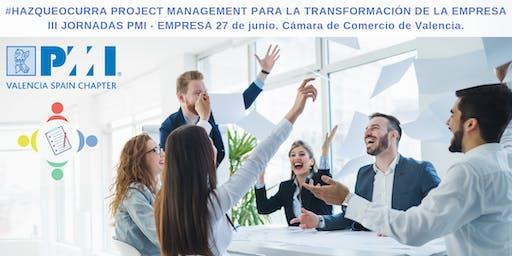 III Jornadas Empresas-PMI