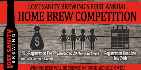 Home Brew Contest tickets