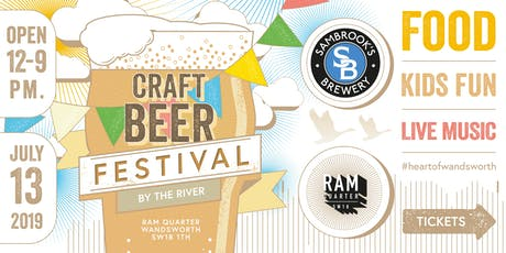 Beer by the River tickets