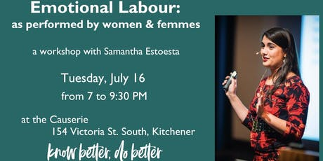 Emotional Labour: as performed by women & femmes tickets