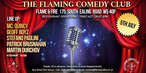 The Flaming Comedy Club