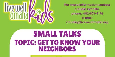 Small Talks tickets