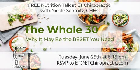 Keto vs. Whole30, The Reset You Actually Need (Free Nutrition Talk) tickets