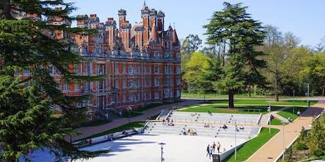 Royal Holloway - Undergraduate Open Day 28 September 2019 tickets