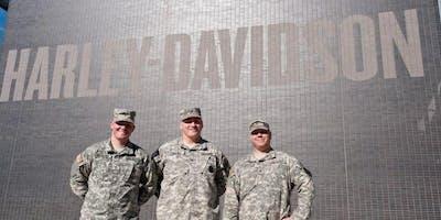 Veterans Day Appreciation  at the Harley- Davidson Museum