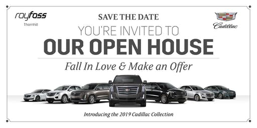 The Roy Foss Cadillac Open House Event