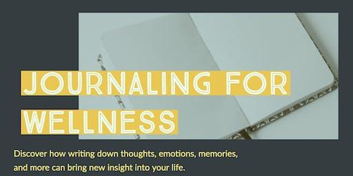 Journaling for Wellness 2019