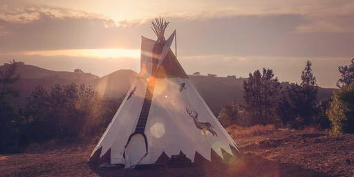 SOUND HEALING TEACHER TRAINING WORKSHOP IN A TIPI :: HEALING YOURSELF + OTHERS WITH SOUND