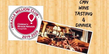 CMN Wine Tasting & Dinner tickets
