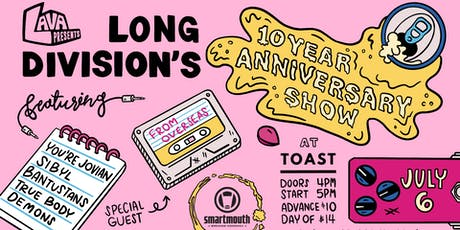 Long Division 10 Year Anniversary Show feat. Demons, True Body + more! tickets