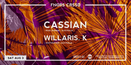 CASSIAN + WILLARIS. K tickets