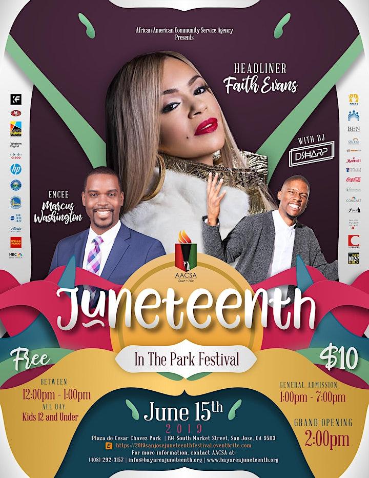 2019 San Jose Juneteenth in the Park Festival image