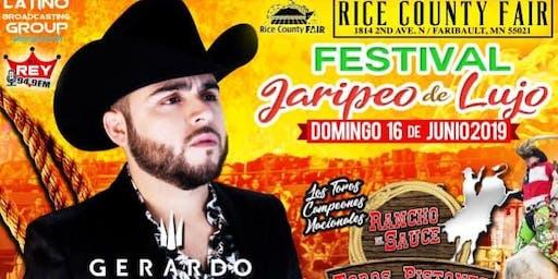 Gerardo Ortiz-Jaripeo & Festival de Lujo!