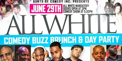 ALL WHITE COMEDY BUZZ BRUNCH - Presented By #YES