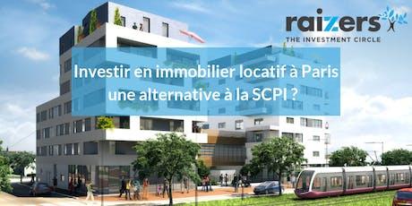 Investir dans l'immobilier locatif avec Raizers une alternative à la SCPI - Mercredi 26 Genève billets