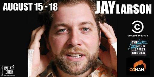 Comedian Jay Larson Live in Naples, FL