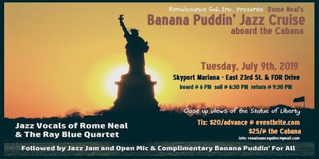 Banana Puddin' Jazz Cruise tickets