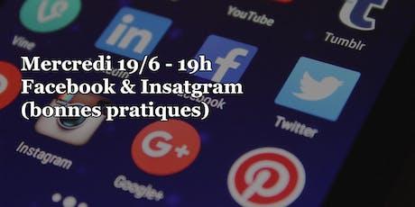 """Atelier Digital Embourg Village: """"Facebook et Instagram, bonnes pratiques"""" tickets"""