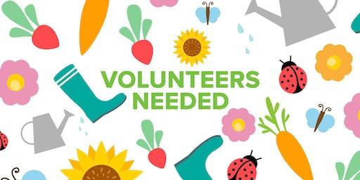 Volunteers Needed! D'Vorre and Hal Ober ES 6/29/19