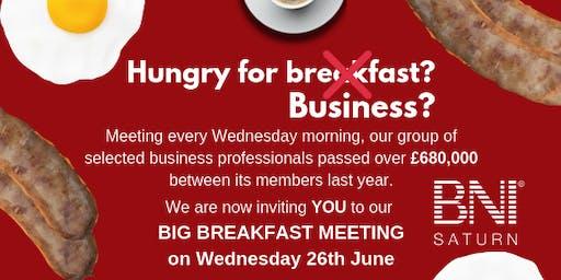 BNI Saturn's Big Breakfast Networking Event, Hoylake, Wirral