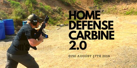 AGC -Home Defense Carbine 2.0 tickets