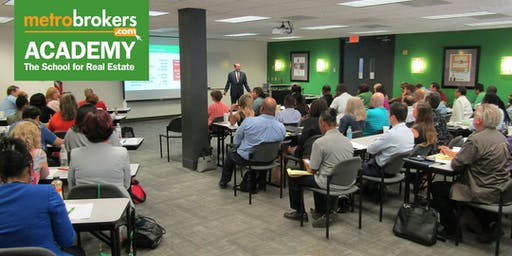 Real Estate Pre-License Course - Peachtree City Evening Class