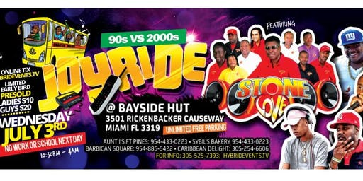Joyride, Dancehall 90's vs 2000's
