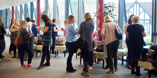 How DOES she do it Networking Caterham - July
