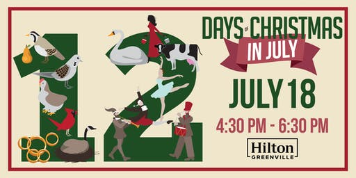 Christmas In July at Hilton Greenville | Client Appreciation