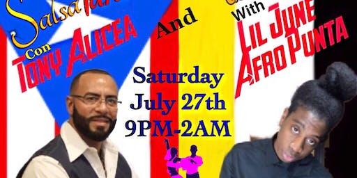 Live Salsa And Garifuna