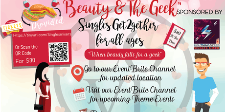 """Beauty & the Geek Singles Get2gether"": Where beauty and brains matches well tickets"