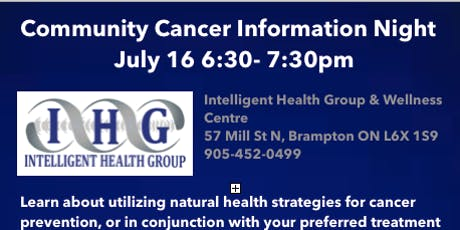 Community Cancer Information Night tickets
