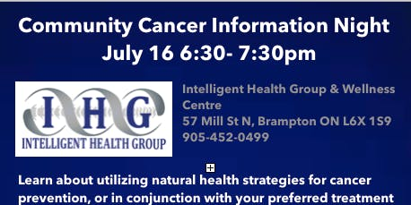 Community Cancer Information Night