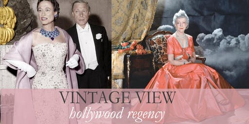 Vintage View: Hollywood Regency