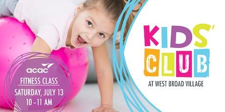 Kids' Club at West Broad Village – acac tickets