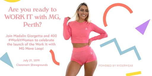 Work It with MG Perth (powered by Ryderwear)