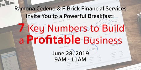 Breakfast: 7 Key Numbers To Build A Profitable Business tickets