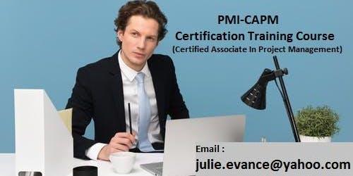 Certified Associate in Project Management (CAPM) Classroom Training in Fair Oaks, CA